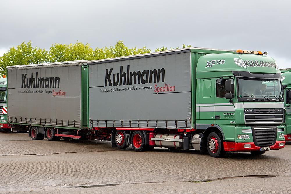 Jumbozug der Spedition Kuhlmann aus Stadthagen